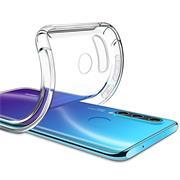 Anti Shock Hülle für Huawei P20 Lite 2019 Schutzhülle mit verstärkten Ecken Transparent Case