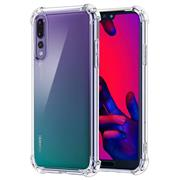 Anti Shock Hülle für Huawei P20 Pro Schutzhülle mit verstärkten Ecken Transparent Case