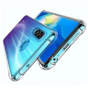 Anti Shock Hülle für Huawei P30 Lite Schutzhülle mit verstärkten Ecken Transparent Case