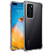 Anti Shock Hülle für Huawei P40 Schutzhülle mit verstärkten Ecken Transparent Case