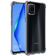 Anti Shock Hülle für Huawei P40 Lite Schutzhülle mit verstärkten Ecken Transparent Case