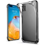 Anti Shock Hülle für Huawei P40 Pro Schutzhülle mit verstärkten Ecken Transparent Case