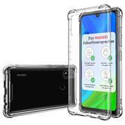 Anti Shock Hülle für Huawei P Smart 2020 Schutzhülle mit verstärkten Ecken Transparent Case