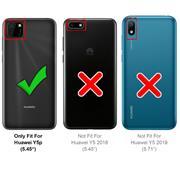 Anti Shock Hülle für Huawei Y5p Schutzhülle mit verstärkten Ecken Transparent Case