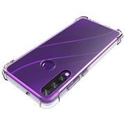 Anti Shock Hülle für Huawei Y6p Schutzhülle mit verstärkten Ecken Transparent Case