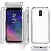 Rugged Schutzhülle für Samsung Galaxy A6 Plus Hülle Kantenschutz Case
