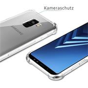 Rugged Schutzhülle für Samsung Galaxy A8 2018 Hülle Kantenschutz Case
