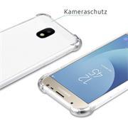 Rugged Schutzhülle für Samsung Galaxy J3 2017 Hülle Kantenschutz Case