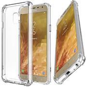 Rugged Schutzhülle für Samsung Galaxy J4 Plus Hülle Kantenschutz Case