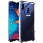 Anti Shock Hülle für Samsung Galaxy A20e Schutzhülle mit verstärkten Ecken Transparent Case
