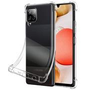 Anti Shock Hülle für Samsung Galaxy A42 5G Schutzhülle mit verstärkten Ecken Transparent Case