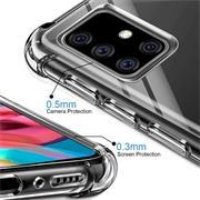 Anti Shock Hülle für Samsung Galaxy A51 Schutzhülle mit verstärkten Ecken Transparent Case