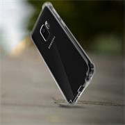 Anti Shock Hülle für Samsung Galaxy A6 Plus Schutzhülle mit verstärkten Ecken Transparent Case