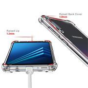 Anti Shock Hülle für Samsung Galaxy A8 Schutzhülle mit verstärkten Ecken Transparent Case