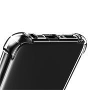 Anti Shock Hülle für Samsung Galaxy A90 5G Schutzhülle mit verstärkten Ecken Transparent Case