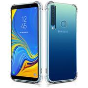 Anti Shock Hülle für Samsung Galaxy A9 2018 Schutzhülle mit verstärkten Ecken Transparent Case