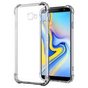 Anti Shock Hülle für Samsung Galaxy J4 Plus Schutzhülle mit verstärkten Ecken Transparent Case