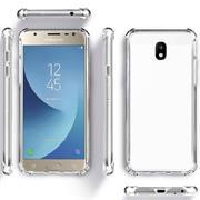 Anti Shock Hülle für Samsung Galaxy J5 2017 Schutzhülle mit verstärkten Ecken Transparent Case