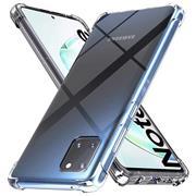 Anti Shock Hülle für Samsung Galaxy Note 10 Lite Schutzhülle mit verstärkten Ecken Transparent Case