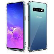 Anti Shock Hülle für Samsung Galaxy S10 Plus Schutzhülle mit verstärkten Ecken Transparent Case