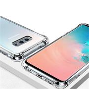 Anti Shock Hülle für Samsung Galaxy S10e Schutzhülle mit verstärkten Ecken Transparent Case