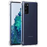 Anti Shock Hülle für Samsung Galaxy S20 FE Schutzhülle mit verstärkten Ecken Transparent Case