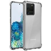Anti Shock Hülle für Samsung Galaxy S20 Ultra Schutzhülle mit verstärkten Ecken Transparent Case