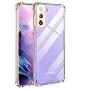 Anti Shock Hülle für Samsung Galaxy S21 Plus Schutzhülle mit verstärkten Ecken Transparent Case