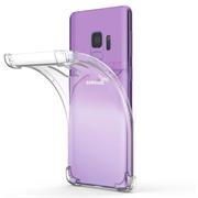 Anti Shock Hülle für Samsung Galaxy S9 Schutzhülle mit verstärkten Ecken Transparent Case