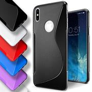 Handy Hülle für Apple iPhone X / XS Backcover Silikon Case