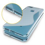 Silikon Hülle für Huawei P10 Lite Case Handy Case Cover Tasche mit seitlichem Grip