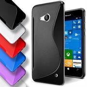 Silikon Hülle für Microsoft Lumia 640 Case Handy Case Cover Tasche mit seitlichem Grip