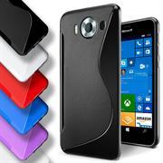 Handy Hülle für Microsoft Lumia 950 Backcover Silikon Case