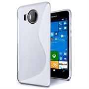 Silikon Hülle für Microsoft Lumia 950 XL Case Handy Case Cover Tasche mit seitlichem Grip
