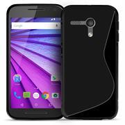 Silikon Hülle für Motorola Moto G 1.Gen. Case Handy Cover Tasche mit seitlichem Grip