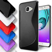 Handy Hülle für Samsung Galaxy A3 2016 Backcover Silikon Case