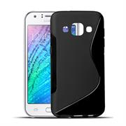 Handy Hülle für Samsung Galaxy J1 2015 Backcover Silikon Case