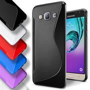 Handy Hülle für Samsung Galaxy J1 2016 Backcover Silikon Case
