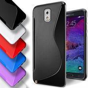 Silikon Hülle für Samsung Galaxy Note 3 Neo Handy Case Cover Tasche mit seitlichem Grip