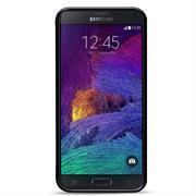 Silikon Hülle für Samsung Galaxy Note 4 Handy Case Cover Tasche mit seitlichem Grip