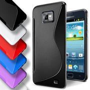 Handy Hülle für Samsung Galaxy S2 / S2 Plus Backcover Silikon Case