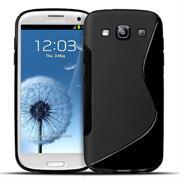 Silikon Hülle für Samsung Galaxy S3 / S3 Neo Handy Case Cover Tasche mit seitlichem Grip