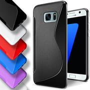 Handy Hülle für Samsung Galaxy S7 Backcover Silikon Case