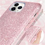 Handy Case für Apple iPhone 12 Mini Hülle Glitzer Cover TPU Schutzhülle