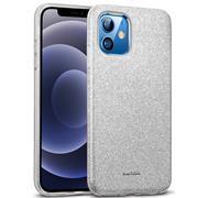 Handy Case für Apple iPhone 12/12 Pro Hülle Glitzer Cover TPU Schutzhülle