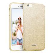 Handy Case für Apple iPhone 6 / 6s Hülle Glitzer Cover TPU Schutzhülle