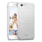 Glitzer Glitzer Silikon Schutz Hülle für Apple iPhone 7 / 8 Handy Case