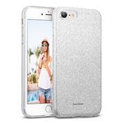 Handy Case für Apple iPhone 7 / 8 / SE 2 Hülle Glitzer Cover TPU Schutzhülle