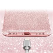 Glitzer Silikon Schutz Hülle für Apple iPhone X / XS Handy Case