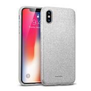 Handy Case für Apple iPhone X / XS Hülle Glitzer Cover TPU Schutzhülle
